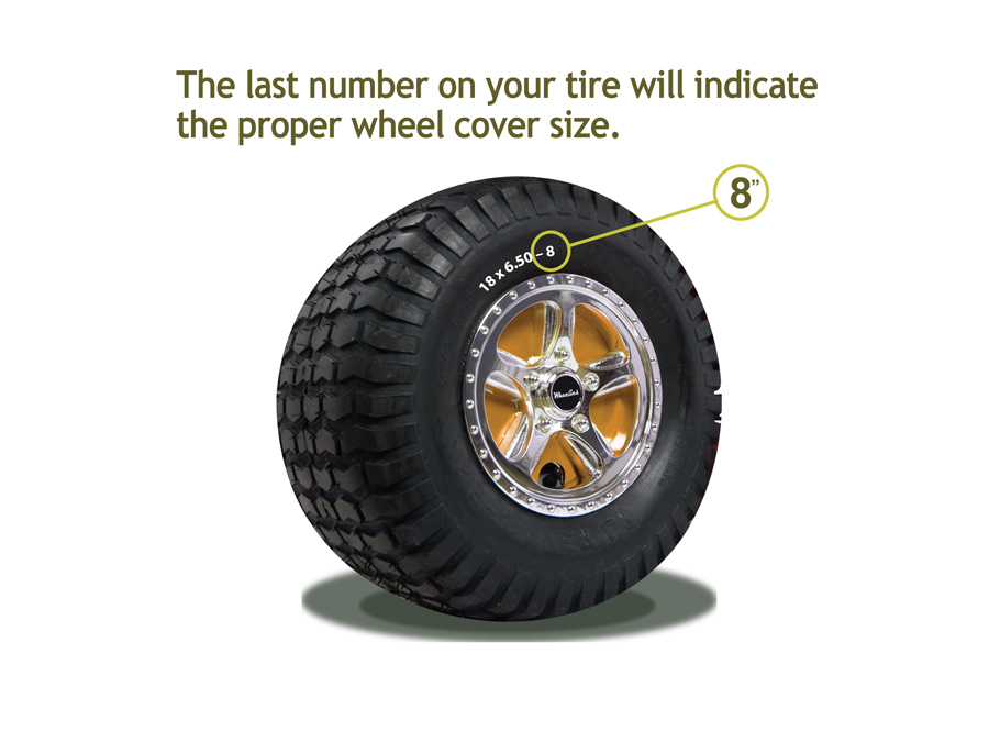 Tractor Wheel Covers